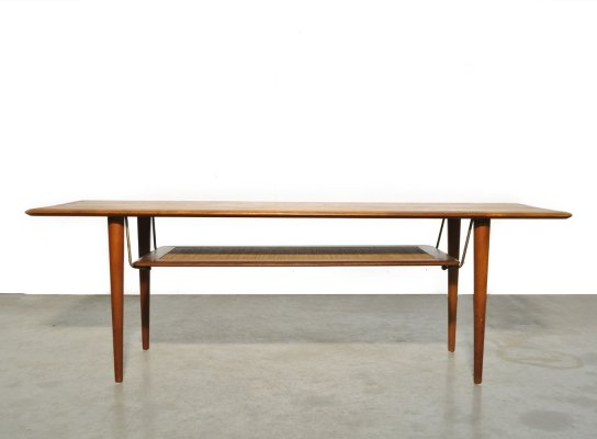 Teak coffee table by Hvidt & Mølgaard Nielsen for France & Daverkosen, Denmark 1956