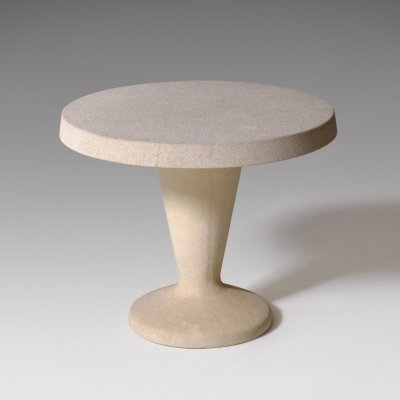 Sculptural Concrete side table, Italy 1960's