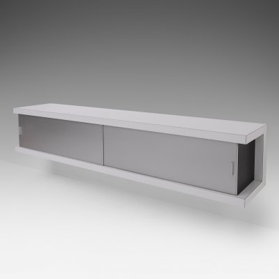 Large Wall mounted modernist credenza by Wim Wilson, 1964