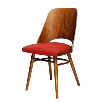 TYP 514 Dining Chairs by Radomir Hofman for Ton, Czechoslovakia 1950s