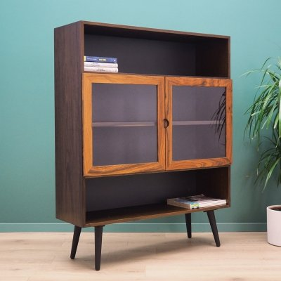 Rosewood Bookcase, Danish design 1970's
