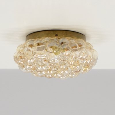 'Bubble' wall / ceiling lamp by Helena Tynell for Limburg Glashütte, Germany 1960s