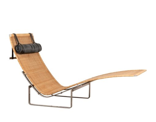PK24 lounge chair by Poul Kjærholm for Fritz Hansen, 1980s