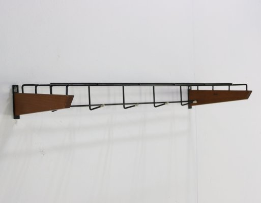 Minimalistic German design coatrack, 1960s