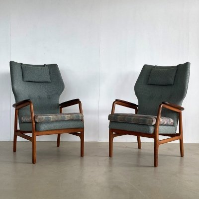 2 x lounge chair by Aksel Bender Madsen for Bovenkamp, 1960s