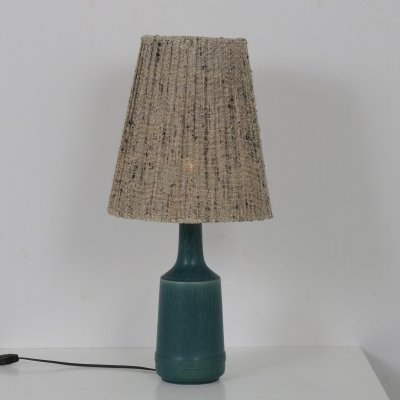 1960s Danish ceramics table lamp by Desiree Stentoj