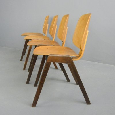 Mid Century Chairs by Joe Atkinson for Thonet, Circa 1950s