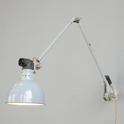 Large Wall Mounted Task Lamp by Rademacher, Circa 1930s