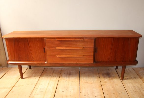 Danish design sideboard in teak by Edmund Jorgensen, 1960s