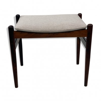 Ottoman in rosewood by Spottrup Mobler