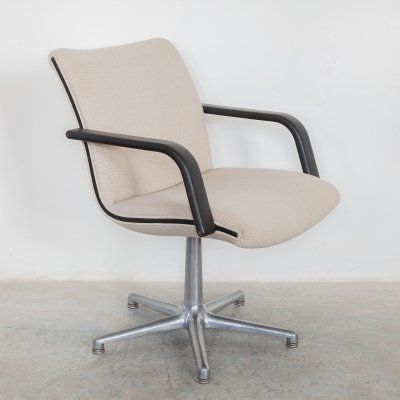 16 x Geoffrey Harcourt for Artifort Swivel Arm Desk Chair, 1970s