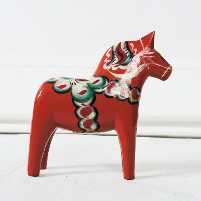 Swedish Dala Horse by Nils Olsson, 1960s