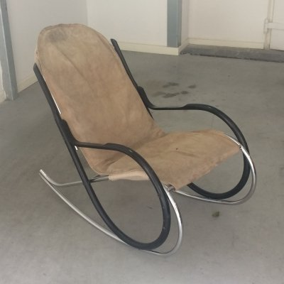 Nonna rocking chair by Paul Tuttle, 1970s
