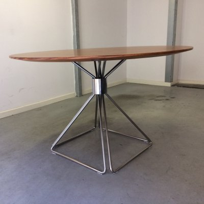 Delta dining table by Rudi Verelst for Novalux Belgium, 1970s