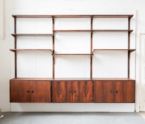 Rosewood wall unit by Rud Thygesen & Johnny Sorensen