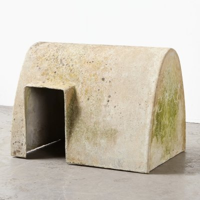 Rare Dog House by Willy Guhl for Eternit, Switzerland 1960s