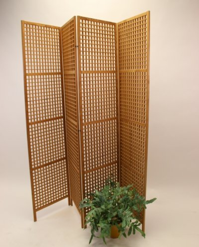 Folding screen / room divider in teak