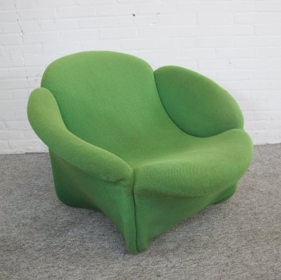 Rare model lounge chair by Pierre Paulin for Artifort, 1960s