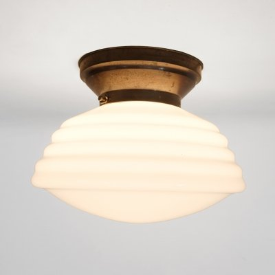 Large Art Deco Phililite ceiling lamp by Philips