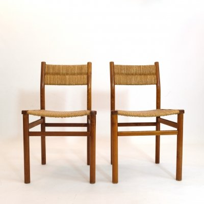 Pierre Gautier Delaye pair of Week-end chairs, 1955