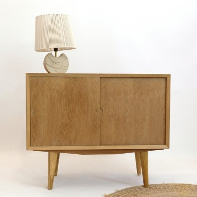 Little sideboard in oak by Poul Cadovius, 1960s
