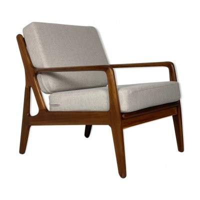 Danish midcentury easy chair by Arne Vodder, 1960s