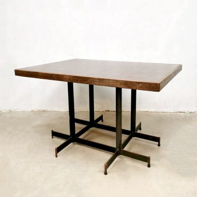 Vintage industrial dining table, 1970s