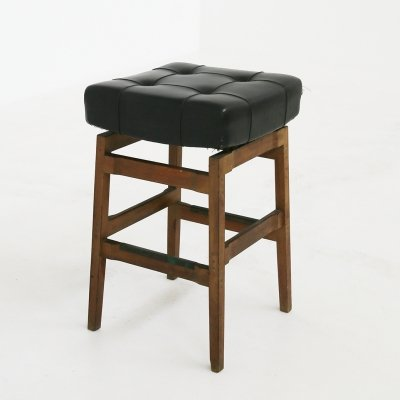 Bar Stool by Gianfranco Frattini for Cassina for the Hotel Parco dei Principi, Rome 1950s