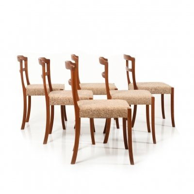 Set of six Dining Chairs in Teak by Ole Wanscher for Cado