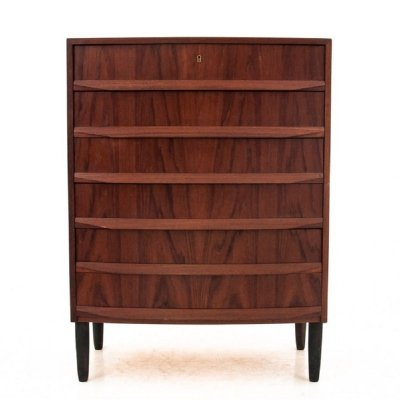 Teak Danish chest of drawers, 1960s