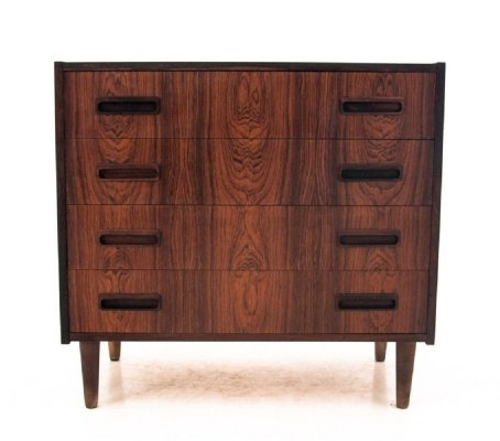 Rosewood Danish chest of drawers, 1960s
