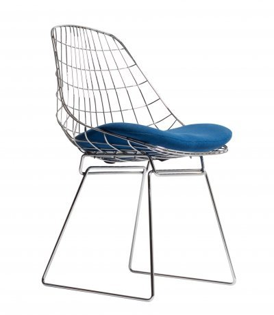 Pastoe SM05 Wire Chair by Cees Braakman, 1970s
