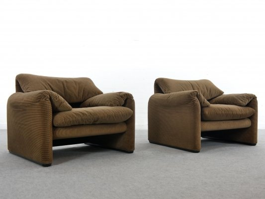 Maralunga Easy Chair by Vico Magistretti for Cassina