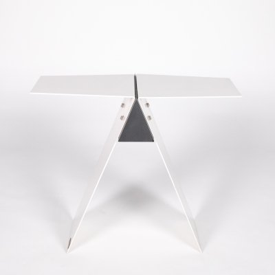 Sculpture / Table by Manfred Billinger with black marble, 1980s