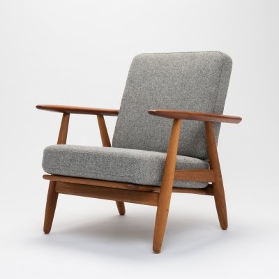 Model GE-240 Cigar Chair by Hans J Wegner for Getama, Denmark 1950s