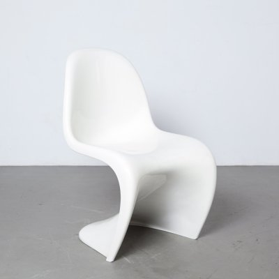 White Panton Chair by Herman Miller, 1973