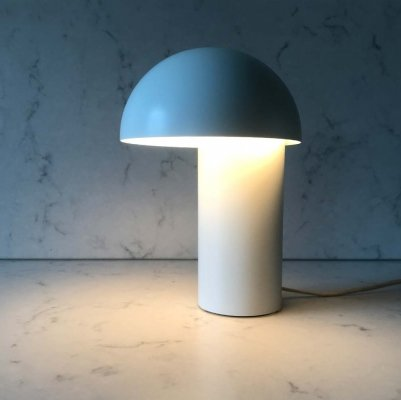 Rare minimalist lamp by Georg Jensen for Royal Copenhagen, 1970's