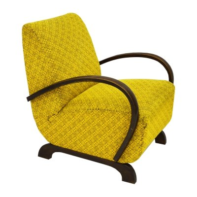Art Deco Armchair by Jindrich Halabala, 1930's