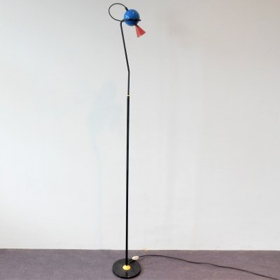 Rare 'Pico' floor lamp by Herman Hermsen for Designum, The Netherlands 1980's