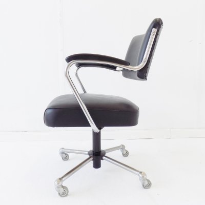 Black Drabert office chair, 1960s
