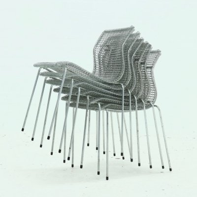 Set of 6 Dining Chairs by Niall O'Flynn for 't Spectrum, 1997