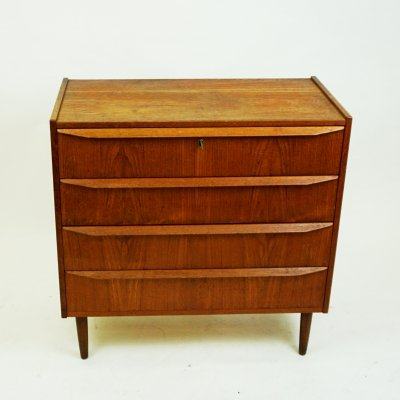 Danish Modern Teak Chest of Drawers, 1960s