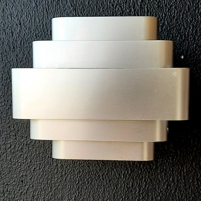 Pair of Jules Wabbes wall lamps, 1960s