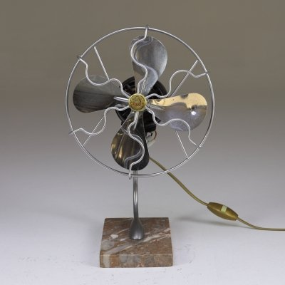 French Vintage Fan by Calor, 1940's