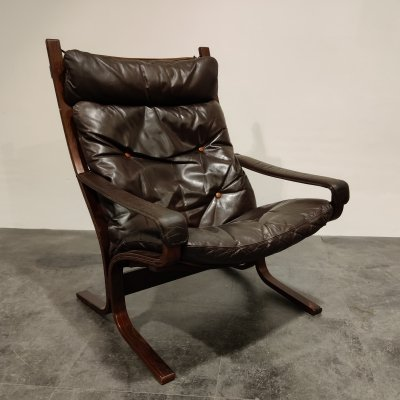 Mid century armchair by Ingmar Relling for Westnofa, 1970s
