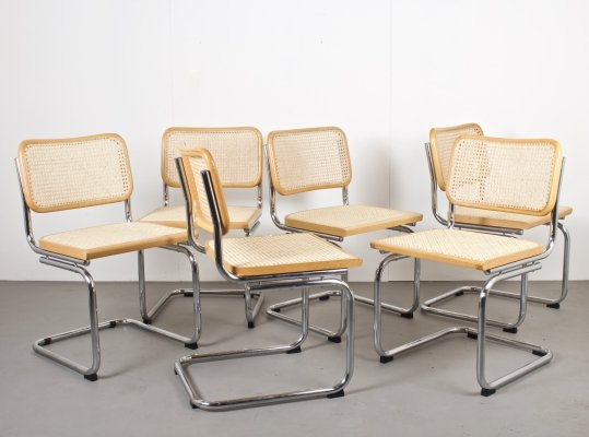 Set of Six Cesca Style Chairs