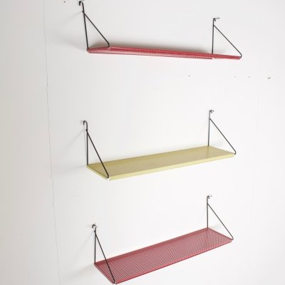 Pilastro Perforated Metal Wall Shelves