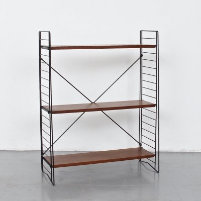 Tomado Floor Standing Shelves in Teak