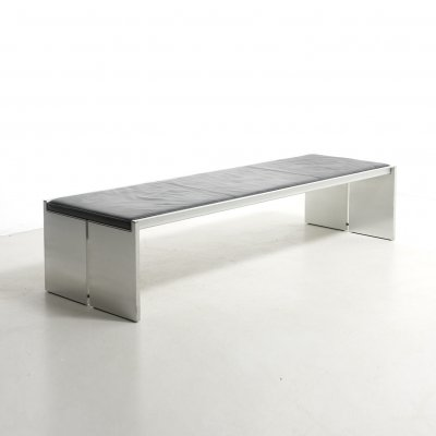 Museum Bench Model BQ01 by Wim Quist for Kröller-Möller Museum, Netherlands