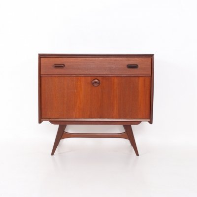 Small teak buffet bar by Louis van Teeffelen for Wébé, 1960's